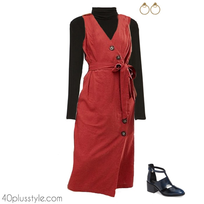 Style for women over 40 - The button front dress | 40plusstyle.com