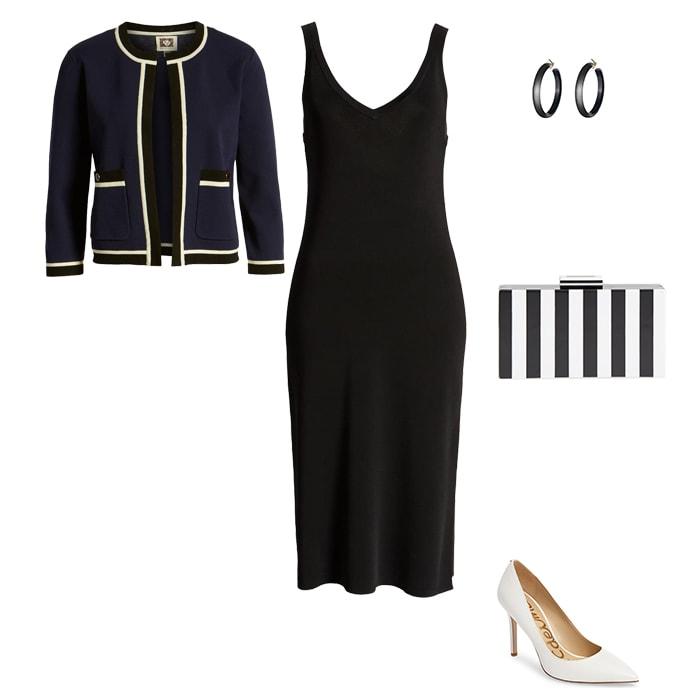crop cardigan outfit idea | 40plusstyle.com