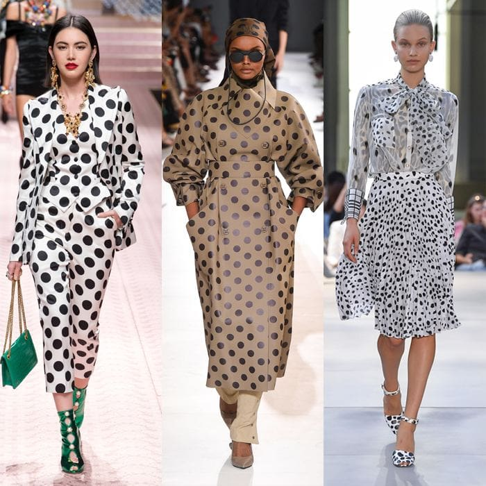 Best spring 2019 trends: polka dots for women over 40 | 40plusstyle