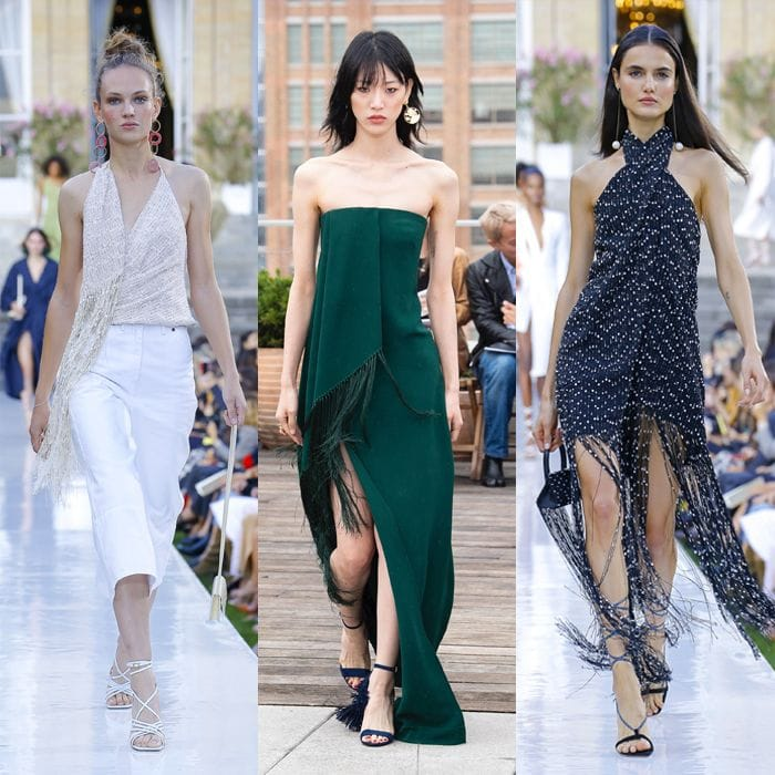 Spring / summer 2019 trends: Fringing for women over 40 | 40plusstyle