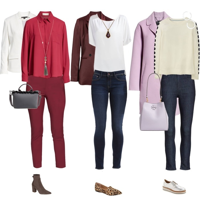 Purple blazers and pants for women over 40 | fashion over 40 | style | fashion | 40plusstyle.com
