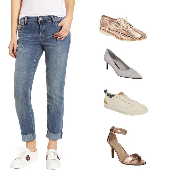 Boyfriend style pants | fashion over 40 | style | fashion | 40plusstyle.com