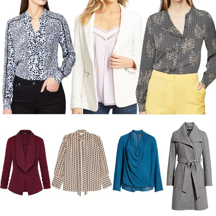 How to dress for work: Tops, jackets and coats for the office | fashion over 40 | style | fashion | 40plusstyle.com