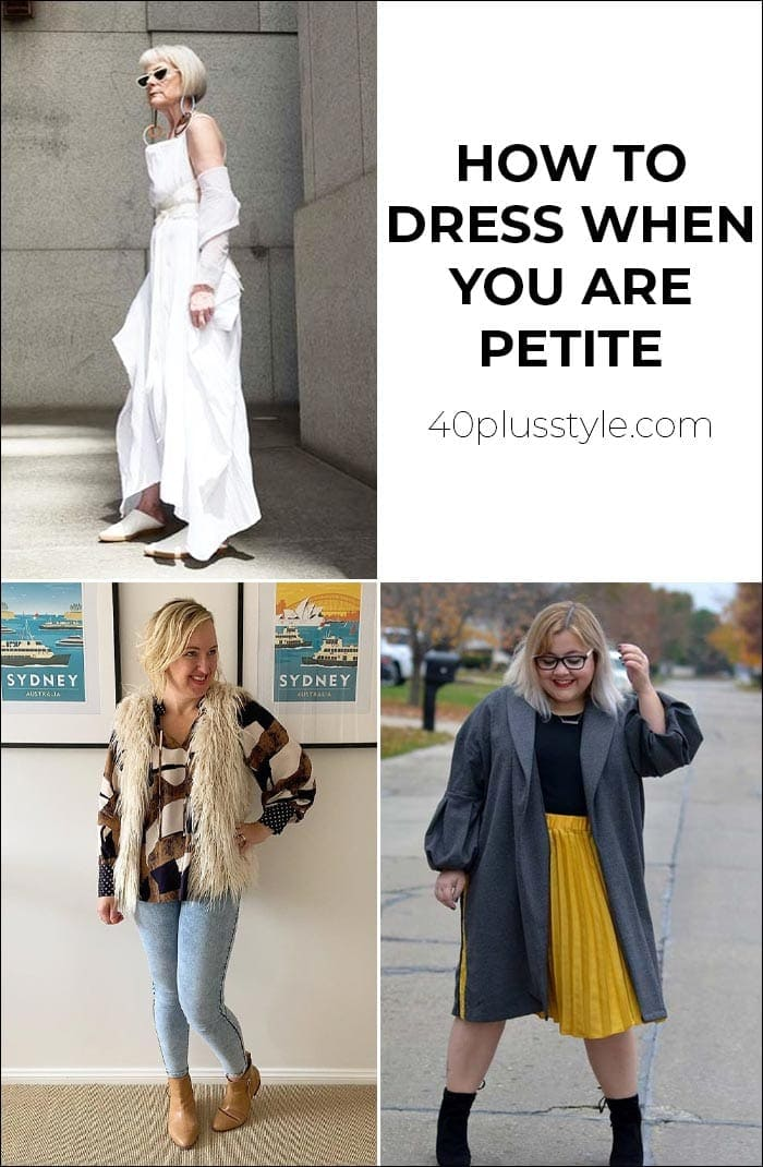 how to dress when you are short | 40plusstyle.com