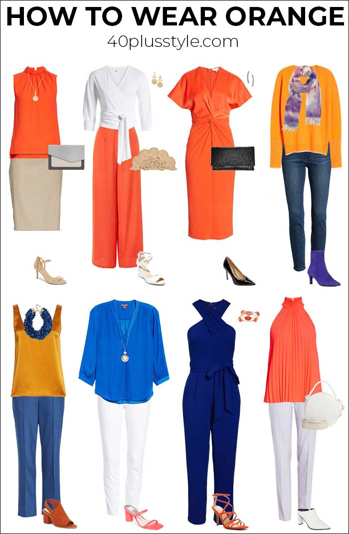 How to wear orange? 7 color combinations to get you started
