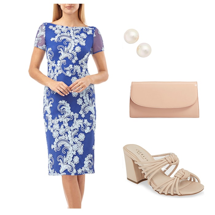 floral dresses to wear to a bridal shower | 40plusstyle.com