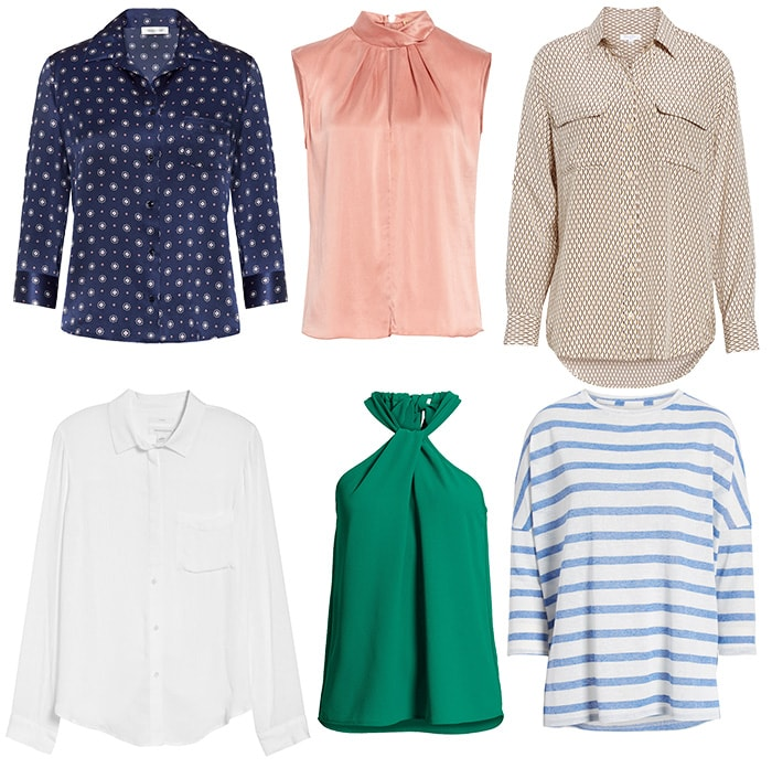 Tops for the rectangle body shape | 40plusstyle.com