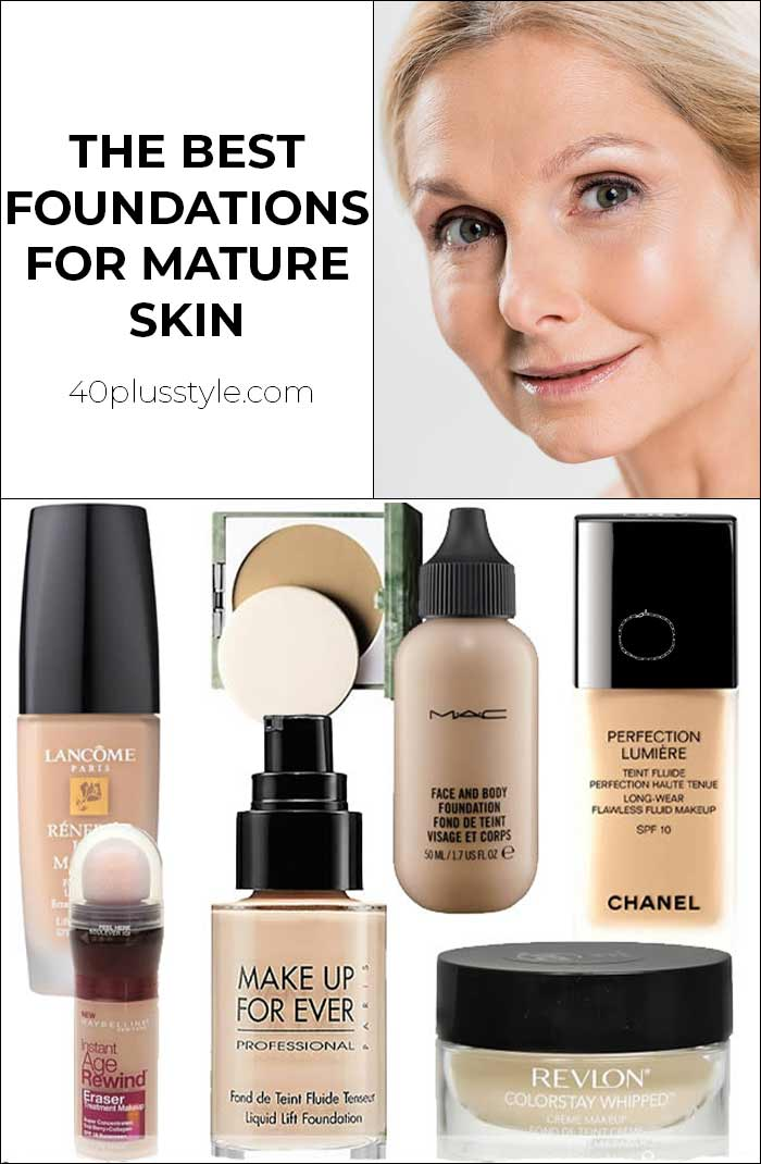 What is the best foundation for mature skin? | 40plusstyle.com