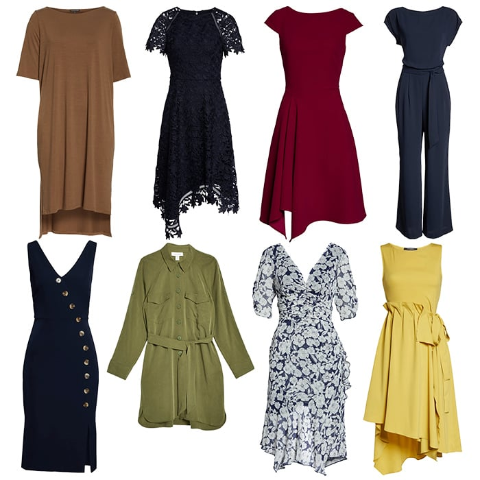 Dresses for the rectangle body shapes | 40plusstyle.com