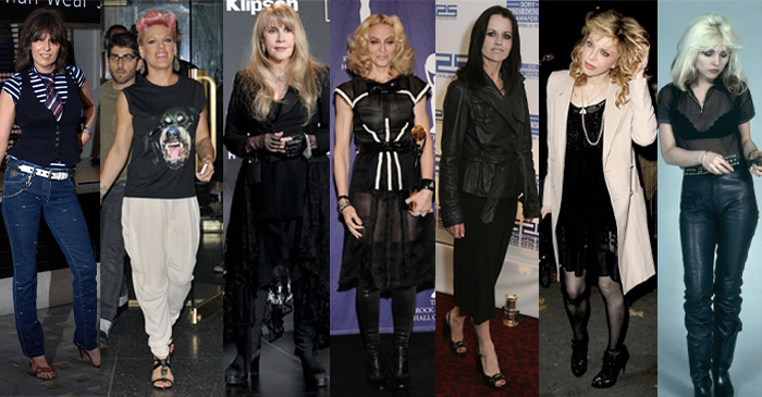 Celebrities with a rock style personality | 40plusstyle.com