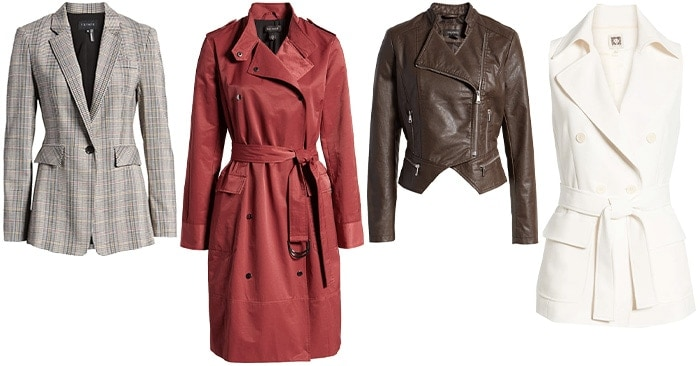 fall coats and jackets | 40plusstyle.com