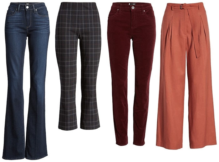pants and jeans to wear during fall | 40plusstyle.com