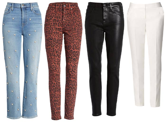 pants and jeans for the glamorous personality | 40plusstyle.com