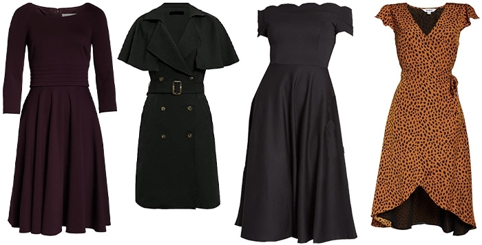 Dresses that are perfect for pear shape bodies | 40plusstyle.com