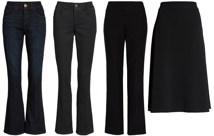 Best pants and skirts for the pear body type   40plusstyle.com