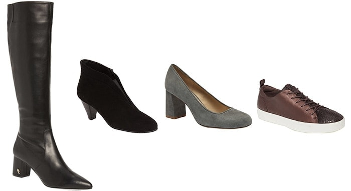 Best shoes for the pear shaped body | 40plusstye.com