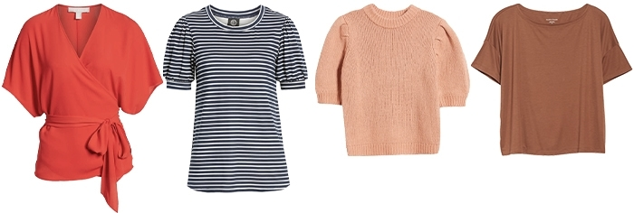 Best tops for the pear shape | 40plusstyle.com