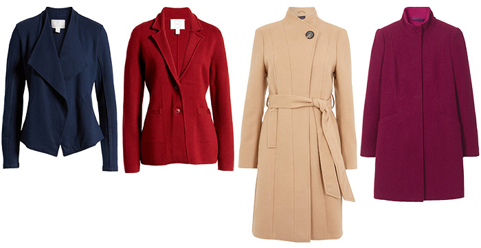 jackets and coats for the petites | 40plusstyle.com