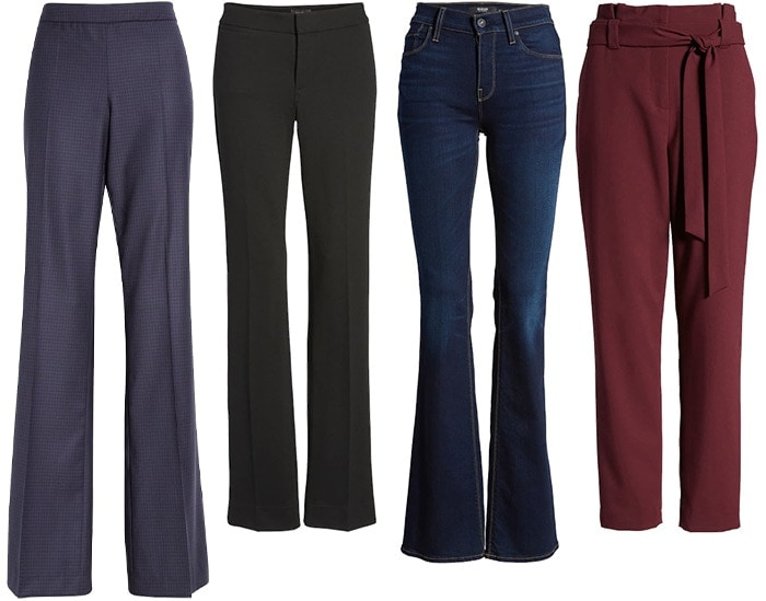 pants and jeans for the petites | 40plusstyle.com