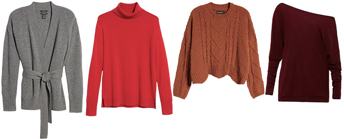 sweaters to wear for thanksgiving | 40plusstyle.com