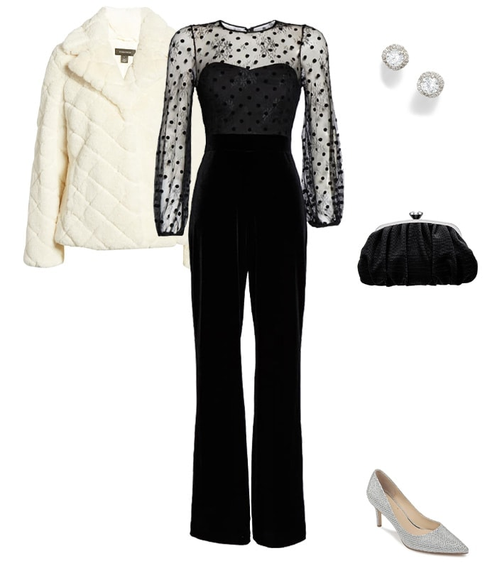 Christmas party outfit 2: Jumpsuits | 40plusstyle.com