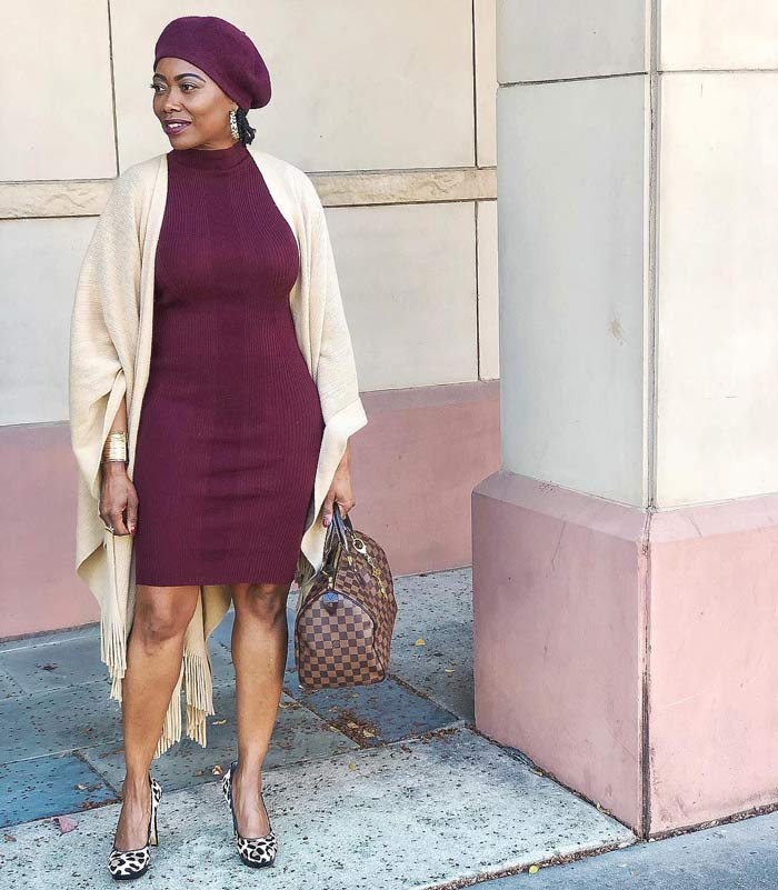 cashmere and silk wrap to use with your dress | 40plusstyle.com