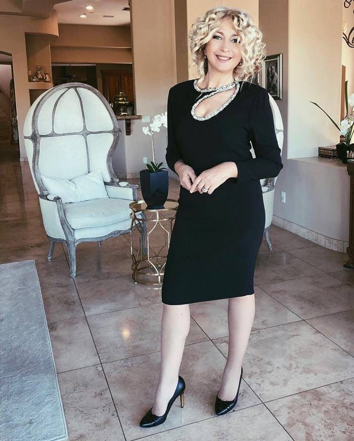 black cocktail dresses for women over 40 | 40plusstyle.com