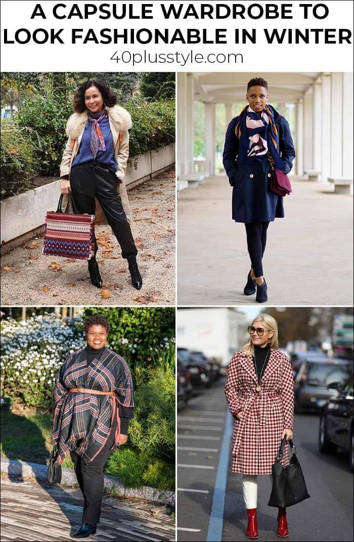 Winter outfits for women: How to look fashionable in winter | 40plusstyle.com