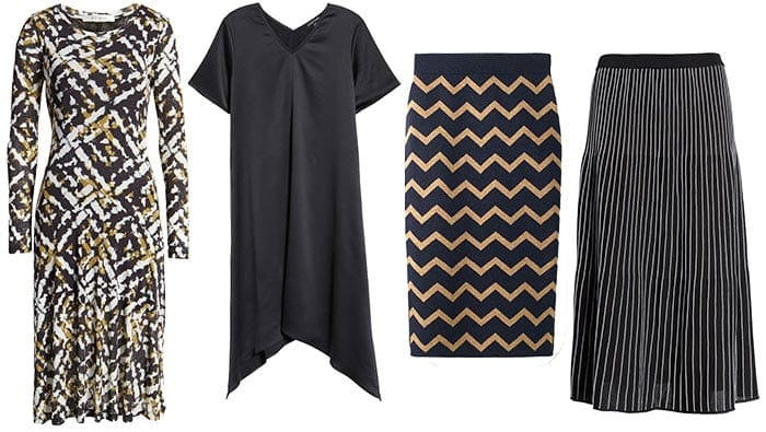 dresses and skirts to wear with leather jackets   40plusstyle.com