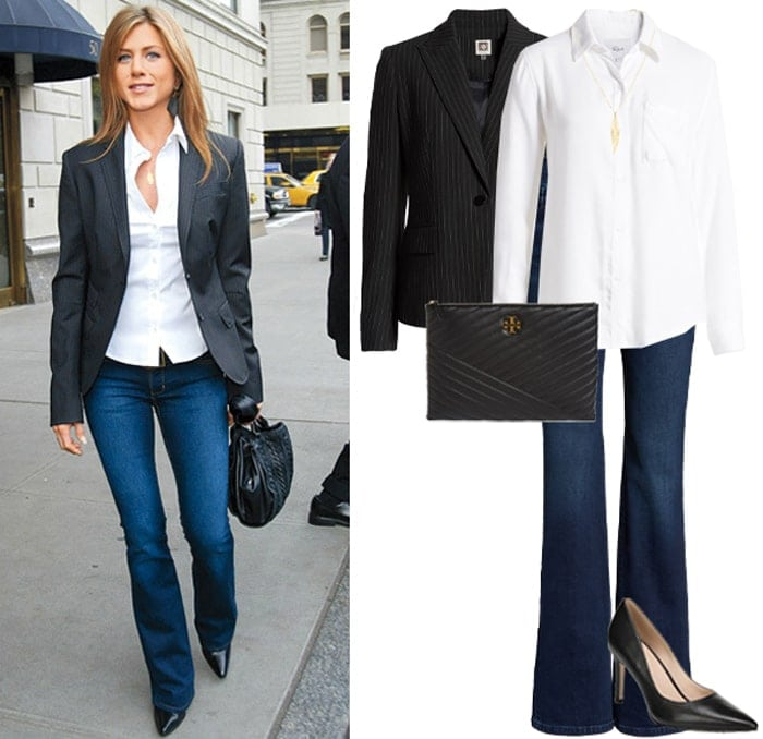 jennifer aniston style outfit for less   40plusstyle.com