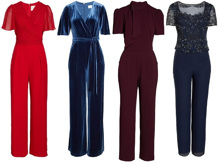 Jumpsuits to wear to a winter wedding | 40plusstyle.com