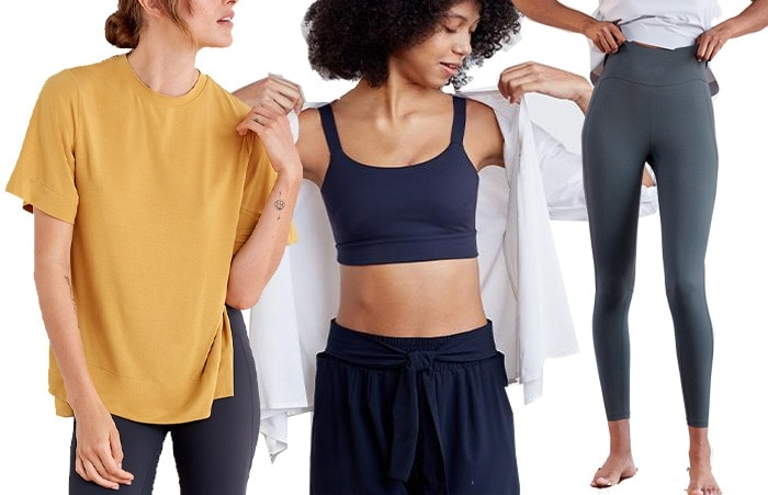 Best workout clothes from ADAY | 40plusstyle.com
