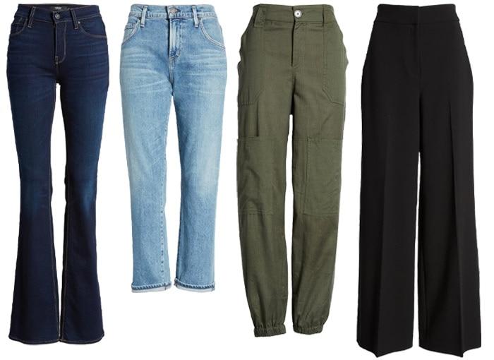 How to dress like Jennifer Aniston: Stylish khakis, pants, jeans and skinny pants | 40plusstyle.com
