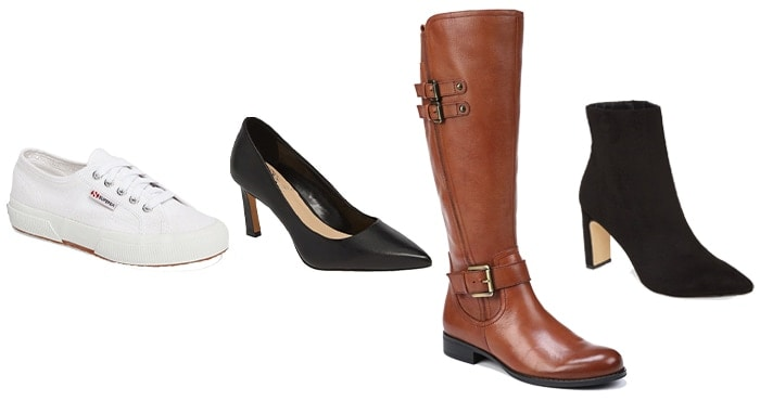 Jeniffer Anniston inspired looks and shoes | 40plusstyle.com