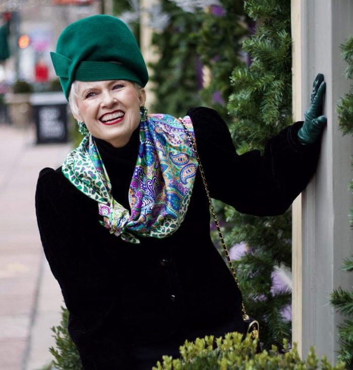 Tips from hat-wearer extraordinaire Judith Boyd | 40plusstyle.com