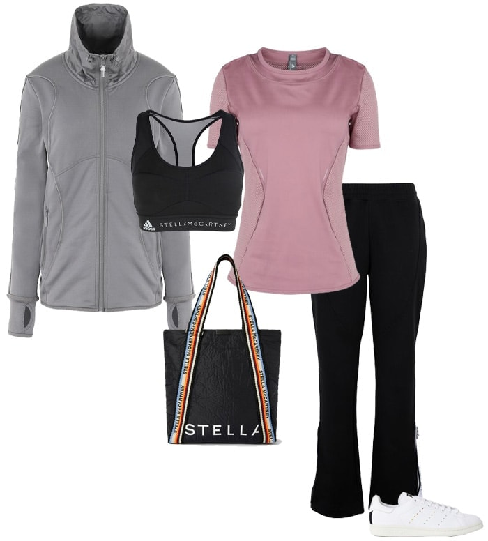 Workout clothing from Stella McCartney for Adidas | 40plusstyle.com