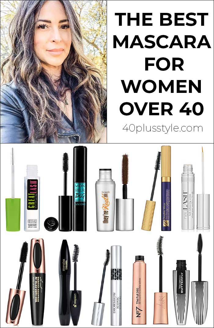 The best mascara for women over 40 - including the best drugstore mascara for luscious lashes | 40plusstyle.com