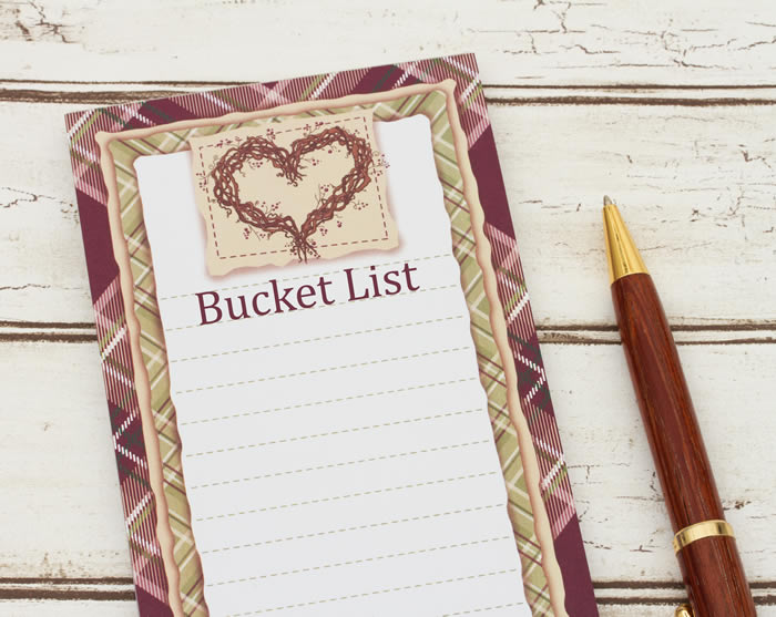Join the 2020 bucket list challenge!