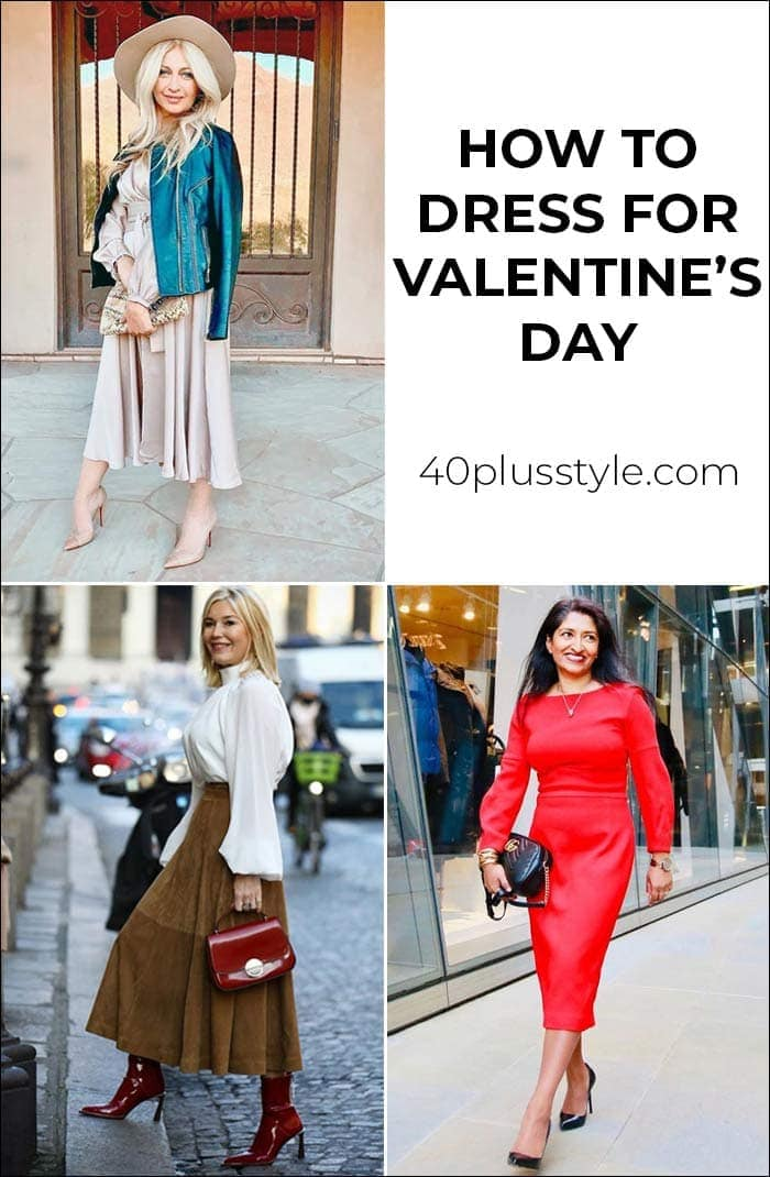 How to dress for valentines day : 9 Valentine's outfits to choose from | 40plusstyle.com