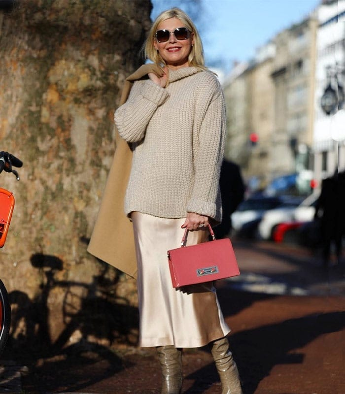 Can you wear beige over 40?