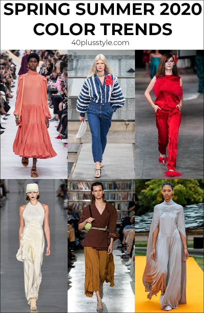 Color trends 2020: All the best colors to wear this spring and summer | 40plusstyle.com