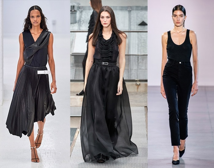wearing black for summer | 40plusstyle.com