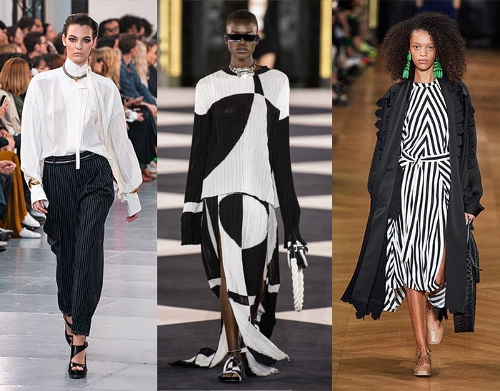 black and white looks for women over 40 | 40plusstyle.com