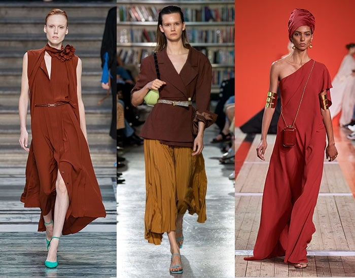 browns and burgundies are unexpected summer color choices | 40plusstyle.com