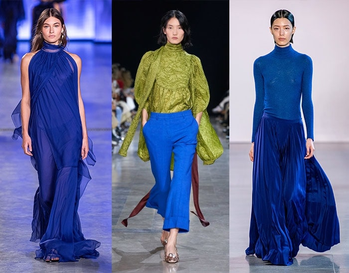 cobalt blue is a striking option for summer fashion | 40plusstyle.com