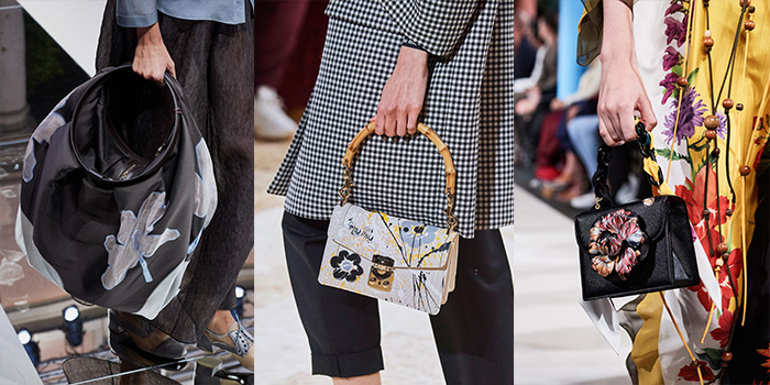 floral bags are a big trend for spring 2020 | 40plusstyle.com