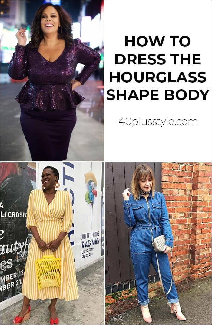 How to dress the hourglass body shape | 40plusstyle.com