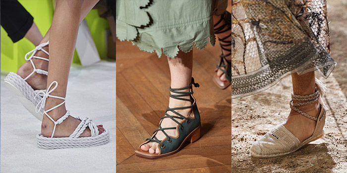 lace-up shoes for summer 2020 | 40plusstyle.com