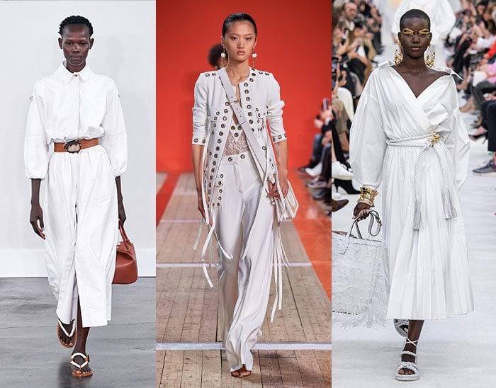 crisp white is a popular summer fashion choice | 40plusstyle.com