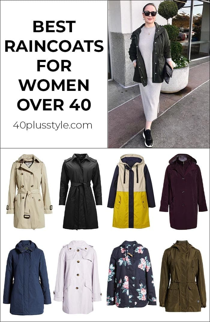 The best raincoats for women that will make you wish for rainy days | 40plusstyle.com